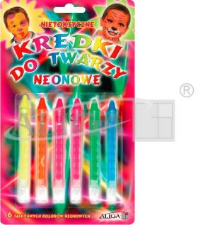 Pencils FP-6N Neon for face painting retractable