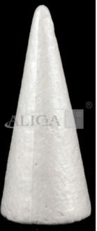 Christm.tr.toy BST-25 Styrof. Cone 25cm.pack.6