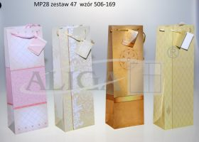 Glossy Gift Bag MP-28 bottle